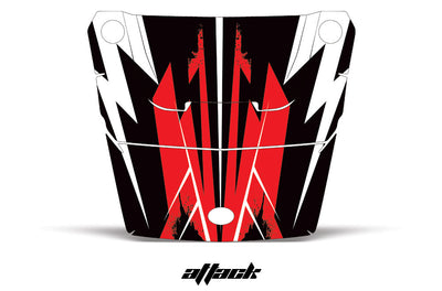 Attack - Red Design on a RZR1000