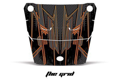 The Grid - Orange Design on a RZR1000
