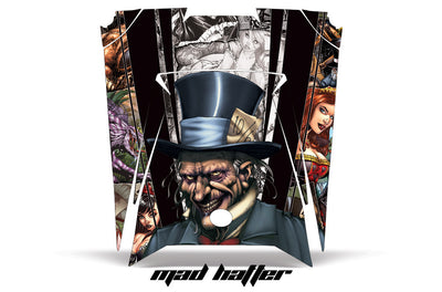 Mad Hatter - Full Color Background White Design on a RZR 900XP