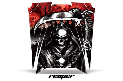 Reaper - Red Background on a RZR 900XP