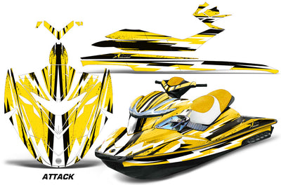 Attack - Yellow Design