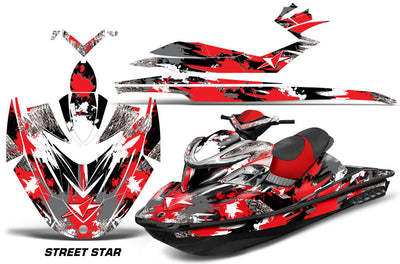 Street Star - Red Design