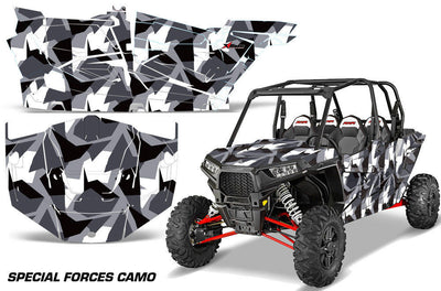 Special Forces Camo - Silver Design