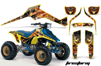 Firestorm - Yellow Design