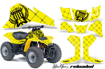 Reloaded - Yellow Background Black Design