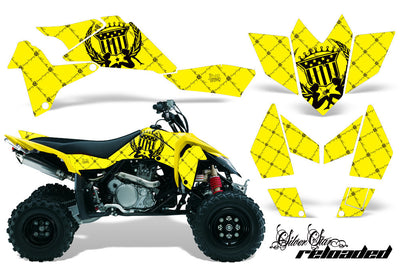 Reloaded Yellow Background Black Design
