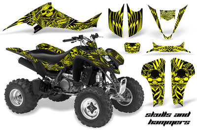 Skulls & Hammers - Yellow Design