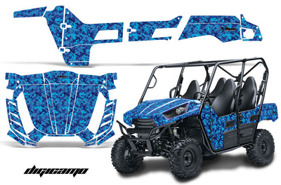 Digital Camo  - Blue Design