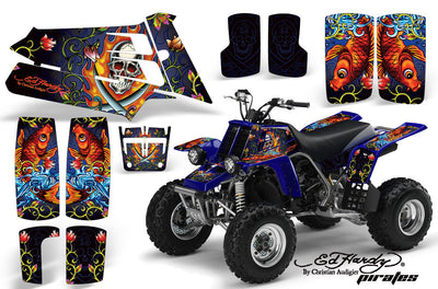 Ed Hardy Pirates - Blue Design