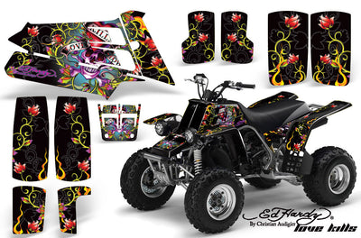 Ed Hardy Love Kills - Black Background
