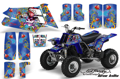 Ed Hardy Love Kills - Blue Background