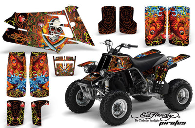 Ed Hardy Pirates - Orange Design