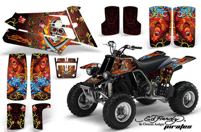 Ed Hardy Pirates - Red Design