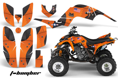Bomber - Orange Design