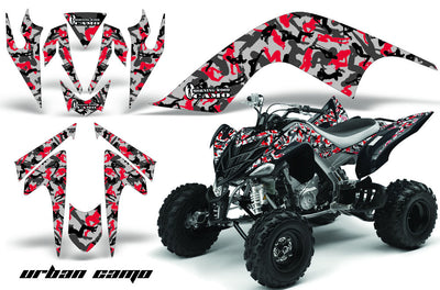 Urban Camo Girl - Red Design