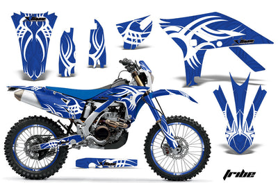 (2012-2015) Tribe - Blue Background White Design