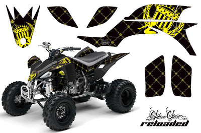 Reloaded - Black Background Yellow Design