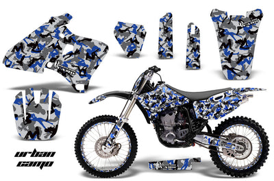 Urban Camo Girl - Blue Design