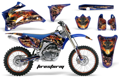 Firestorm - Blue Design