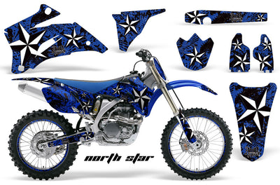 North Star - Blue Background - White Design