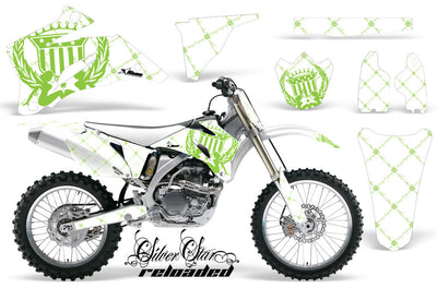 Reloaded - White Background Green Design