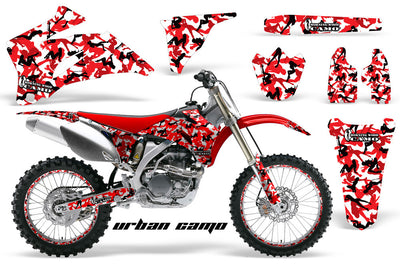 Urban Girl Camo - Red Design