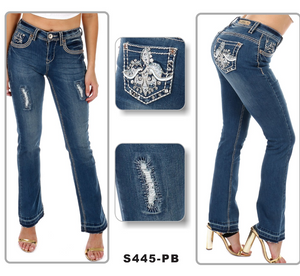 Sexy Couture Boot Cut Jeans $49