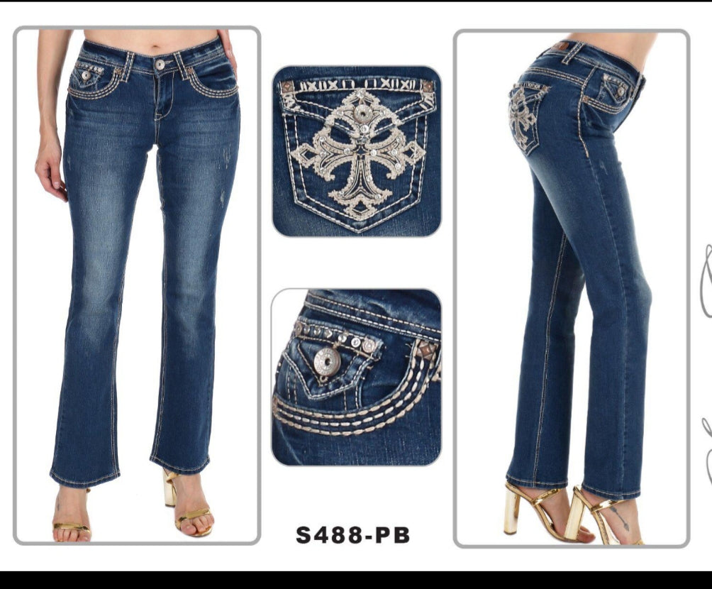NEW!!! Sexy Couture Boot Cut Jeans