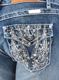 SALE!!! Pistol Wing Boot Cut Jeans