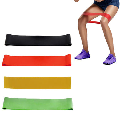 Elastic resistance band for yoga and crossfit/strength training