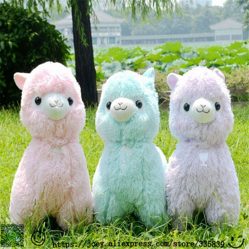 45cm Alpaca Plush in 5 Colors
