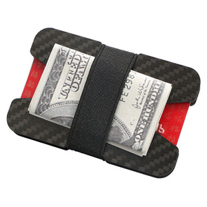 Carbon Fiber Credit Card Holder RFID Blocking Slim