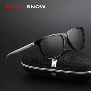 Aluminum+TR90 Sunglasses Men Polarized
