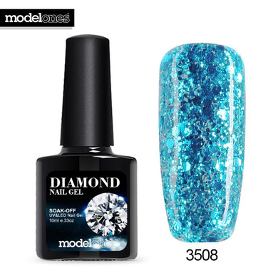 Modelones Diamond Nail Gel Many Colors UV/LED Nail Polish