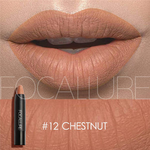 Focallure Matte Sexy Lips Color Cosmetics Pigment Nude Red Waterproof l