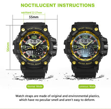 Military Watch Men Waterproof Sport Watch
