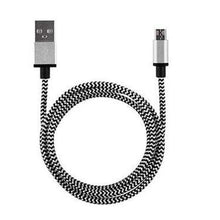 Phone Cables For Android Phone 2A Braided Aluminum Micro USB Data&Sync
