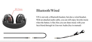 Bluedio T2S Bluetooth Headphones with Microphone