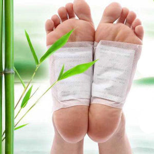 10 Pack Good Detox Foot Pad Patch Detoxify Toxins Adhesive