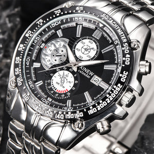 2017 XINEW Brand Luxury full stainless steel Watch Men