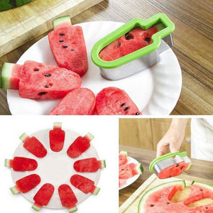 Creative Simple Watermelon Cutters Stainless Steel Ice Cream Model Watermelon Slicer