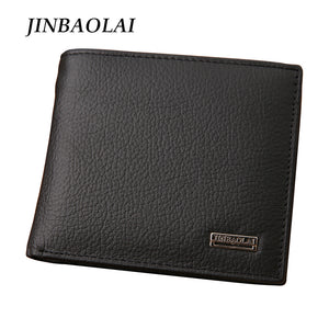 Men's Wallet Genuine Leather