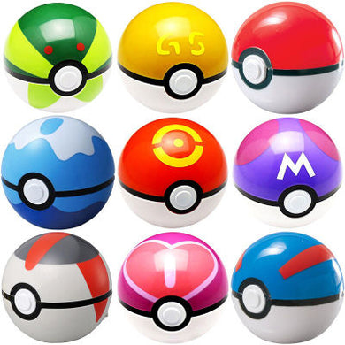 1Pc Pokeball + 1pc Free Random Figures Inside