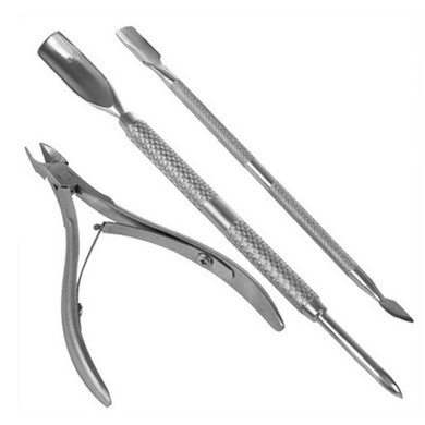 3Pcs Nail Cuticle Set
