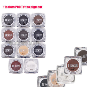 11 Colors Lip Microblading Pigment Professional