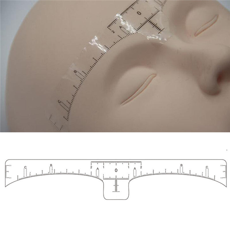 100pcs Microblading Disposable Accurate Ruler