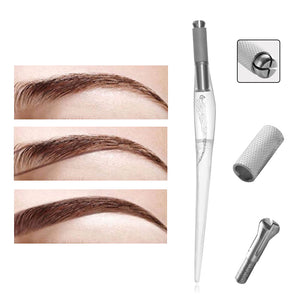 1 Pcs High Quality Eyebrow Tattoo Pen Pretty Fashion Permanent Makeup Tattoo Pen