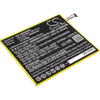 Amazon Kindle Fire HD 8,PR53DC; P/N:26S1018,58-000161,MC-28A8B8 Battery