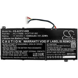 New 5300mAh Battery for Acer SF314-52-57EJ,SP314-52,SP314-52-30SD,SP314-52-34M3,SP314-52-36PS,SP314-52-501M,SP314-52-50HT,SP314-52-51K3,SP314-52-54R2,SP314-52-58AR,Spin 3 SP314-52; P/N:3ICP7/61/80
