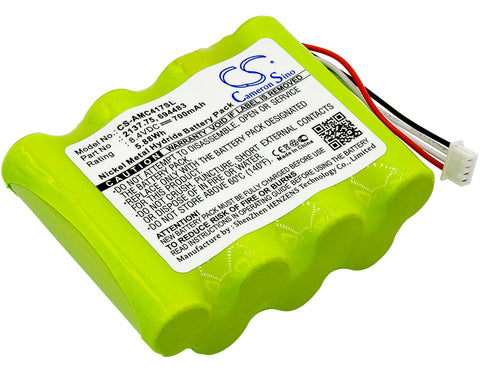 Equipment Battery for AEMC 6417 Ground Tester, PEL 102, PEL 103 (700mAh)